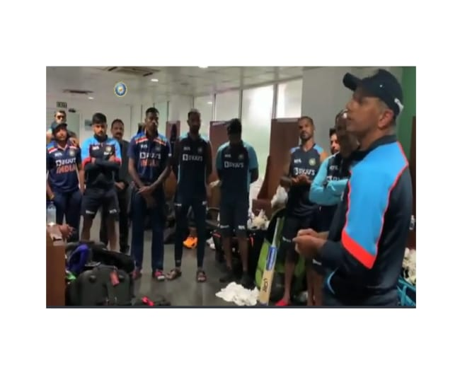 India vs Sri Lanka: 'A fantastic performance,' Rahul Dravid's breathtaking address to youngsters | Watch