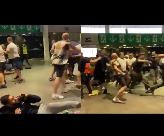 Euro 2020 Final: English fans attack, racially abuse Italians outside Wembley after loss | WATCH
