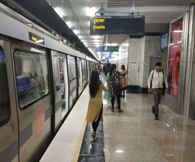 Attention Delhiites! Long queues, rush seen outside several metro stations; here's what you should know