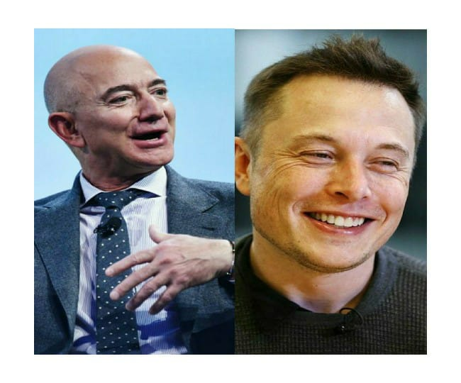 Jeff Bezos' trip to space gets Elon Musk's cheer. Read how SpaceX CEO reacted