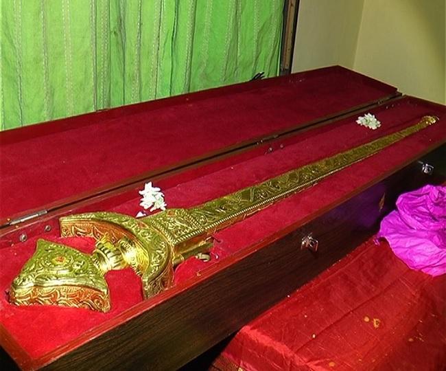 Hyderabad businessman offers Rs 1 crore gold sword to Tirupati Balaji temple