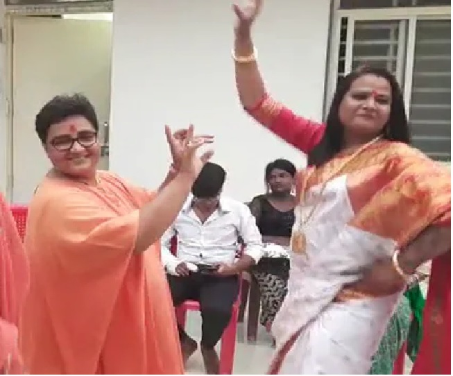 'We knew she couldn't walk or stand...': Congress' dig at Pragya Thakur as BJP MP's dance video goes viral