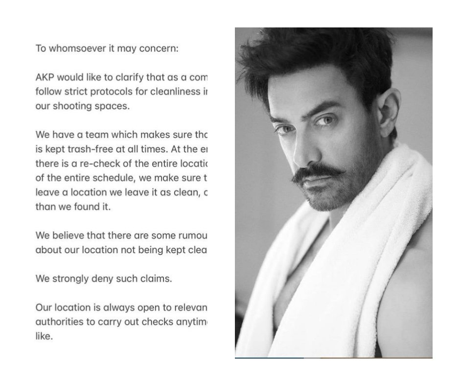 Aamir Khan issues official statement denying littering in Ladakh village amidst shooting for Laal Singh Chaddha