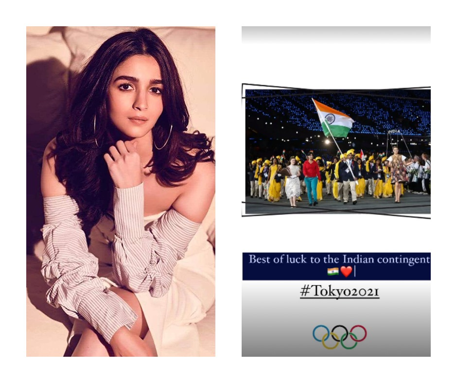 Tokyo Olympics 2020: Alia Bhatt posts old pic featuring Sushil Kumar to wish Indian contingent