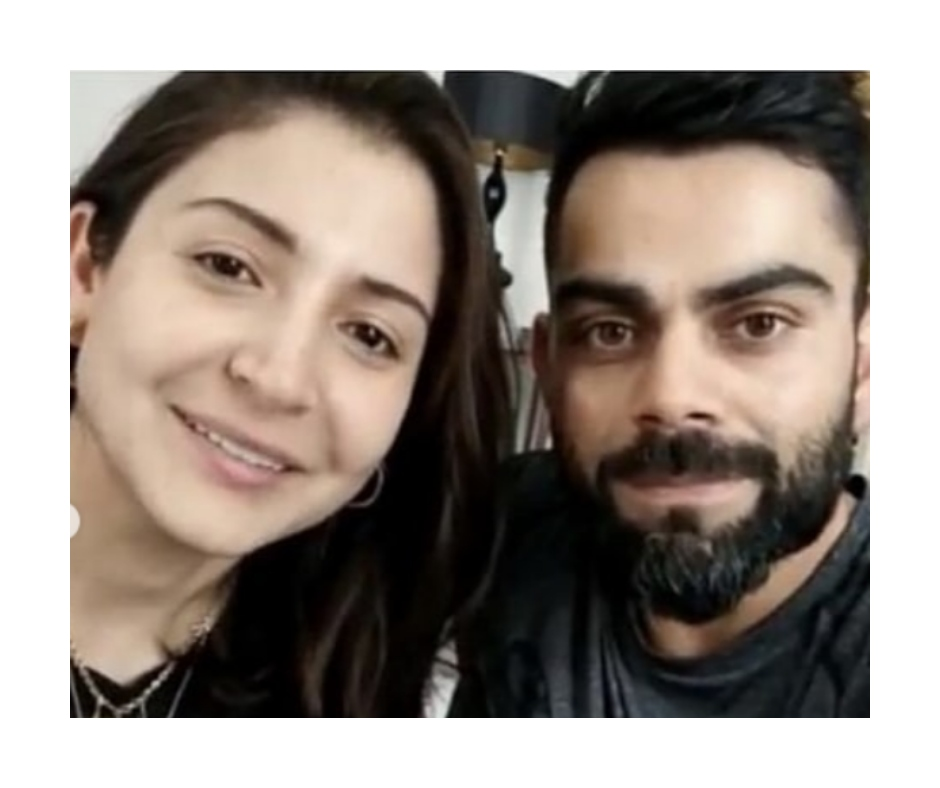 We bet you can't guess why this pic of Anushka Sharma and Virat Kohli has gone viral
