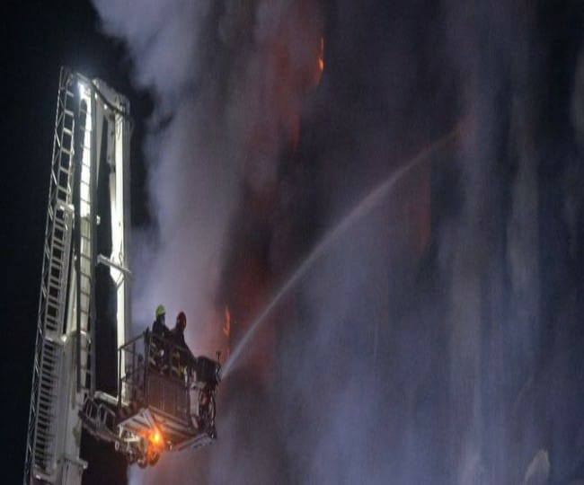 Bangladesh Factory Fire: 40 killed, dozens missing in massive blaze in  Naryanganj's Rupganj; rescue ops underway