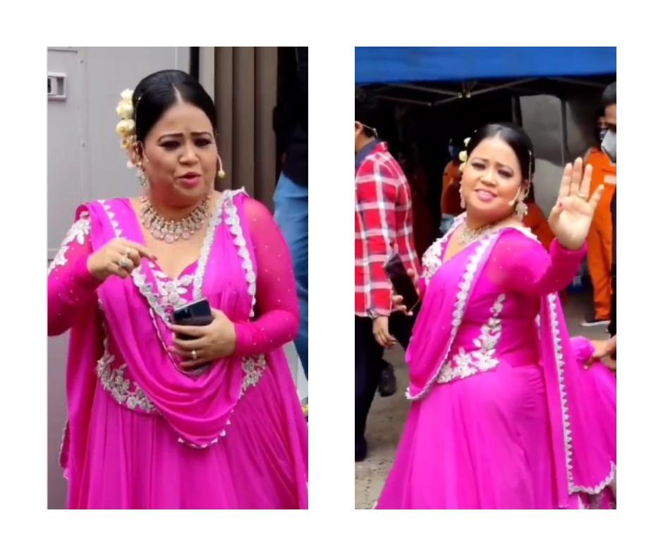 Dance Deewane 3: Bharti Singh's BTS video dressed as Deepika Padukone from Om Shanti Om wins hearts | Watch