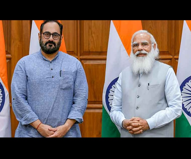 Modi Cabinet 2.0: Rajeev Chandrasekhar, the entrepreneur-turned-politician, takes charge as MoS in MeitY; know who is he