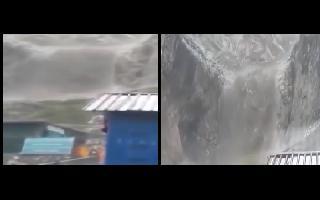 Cloudburst hits near Amarnath shrine in Jammu and Kashmir, no loss of life reported so far | Watch