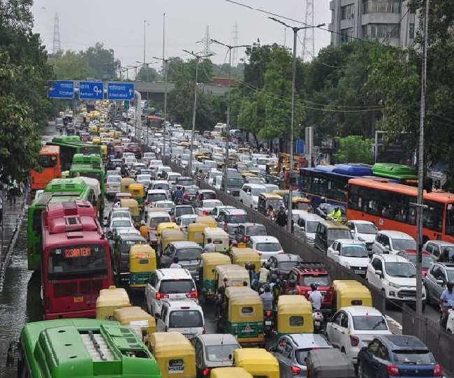 Delhi Rains: Traffic snarls as heavy downpour leads to waterlogging across city; check which routes to avoid here