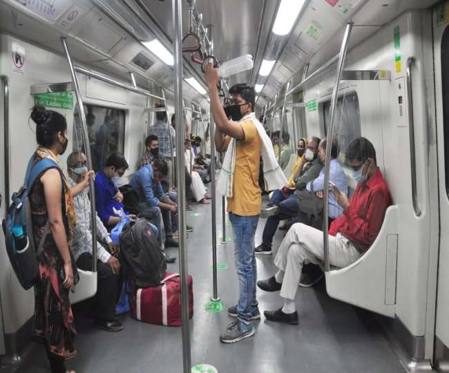 50 passengers per coach, no standing travel and more: DMRC's guidelines as Delhi govt relaxes COVID-19 curbs