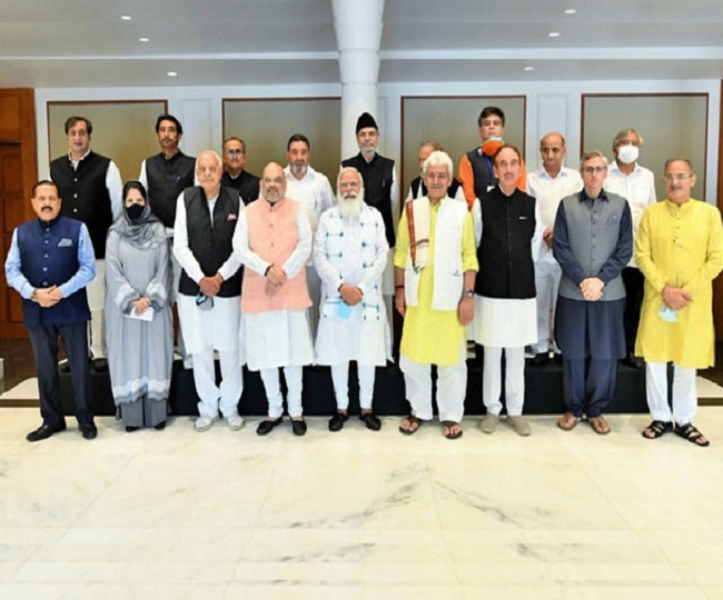 Delimitation Commission visits J-K, to interact with political leaders; PDP refrains from meeting