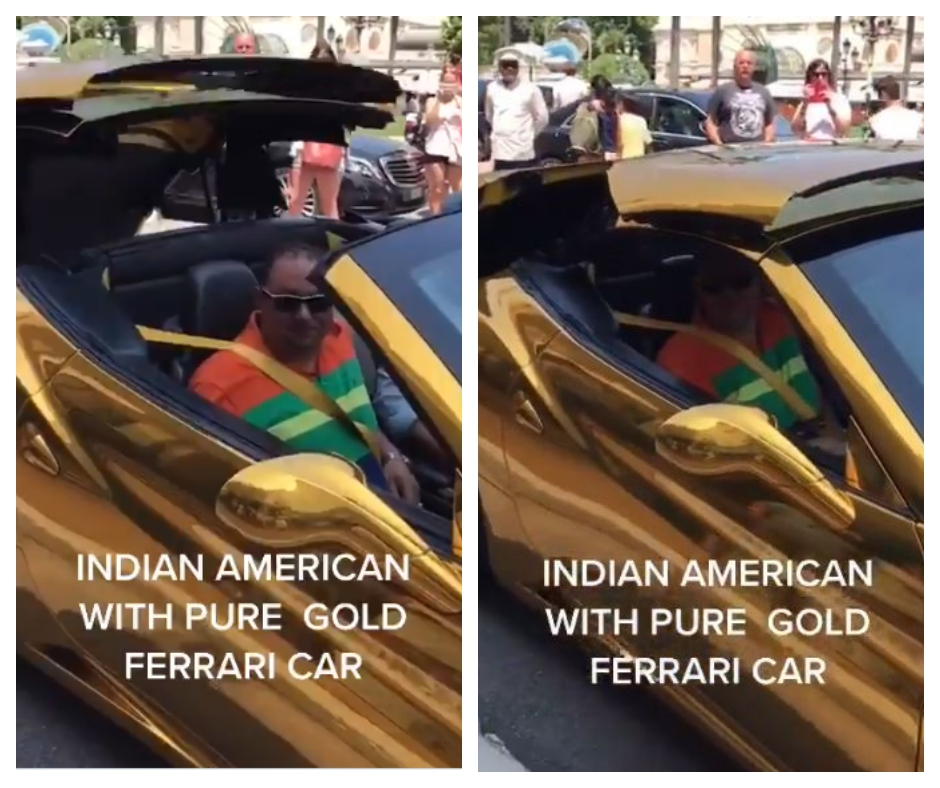 Anand Mahindra shares 'gold Ferrari' video; sparks Twitter thread as he schools people NOT to waste money