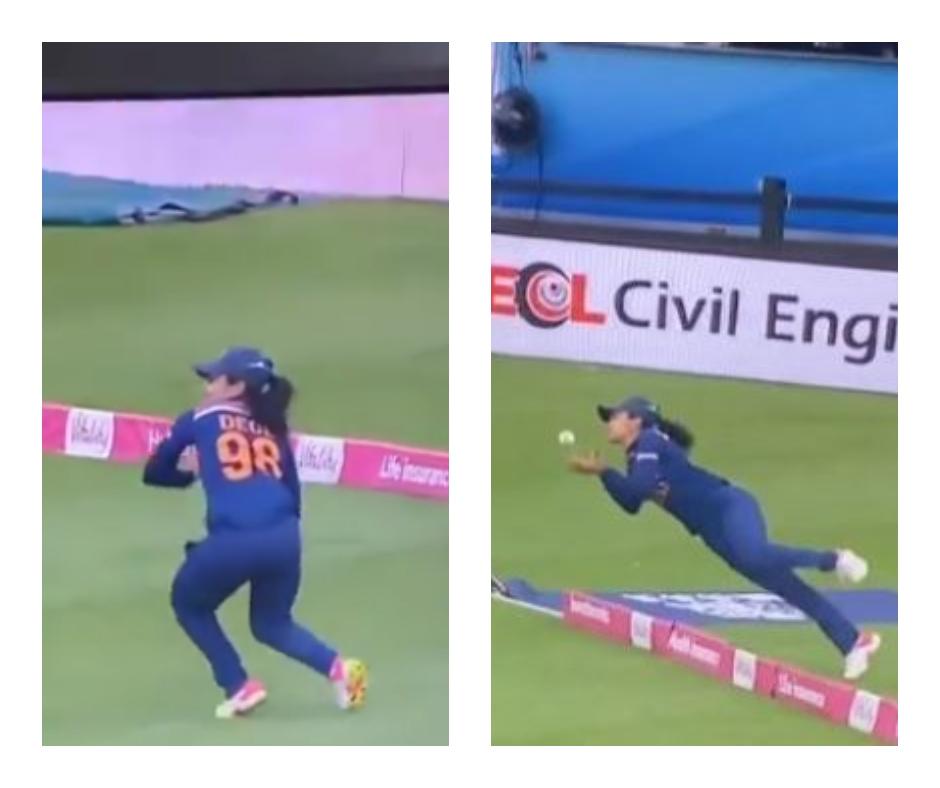 Sachin Tendulkar to Varun Dhawan; celebs can't stop praising cricketer Harleen Deol for her brilliant catch during India vs England T20I