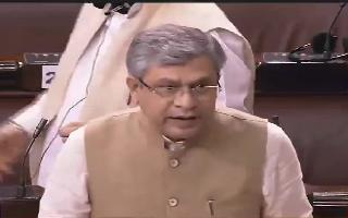 Ruckus in Parliament as TMC's Santanu Sen snatches Ashwini Vaishnaw's..