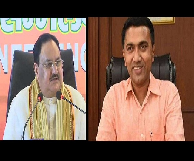 Pramod Sawant to be BJP's chief ministerial candidate for 2022 Goa assembly elections, confirms JP Nadda