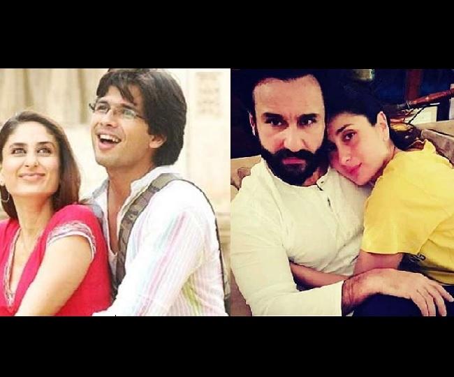 When Kareena Kapoor said Shahid Kapoor 'changed her career' but Saif Ali Khan 'changed her life'