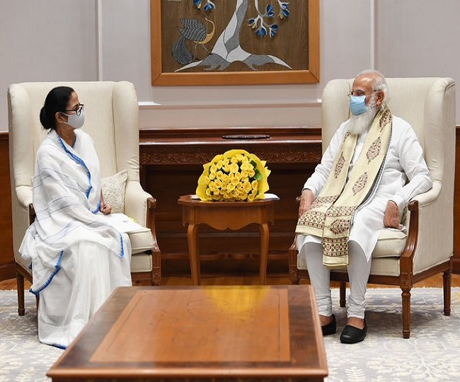 In meet with PM, Mamata Banerjee demands more vaccine for Bengal, SC-monitored probe on Pegasus issue