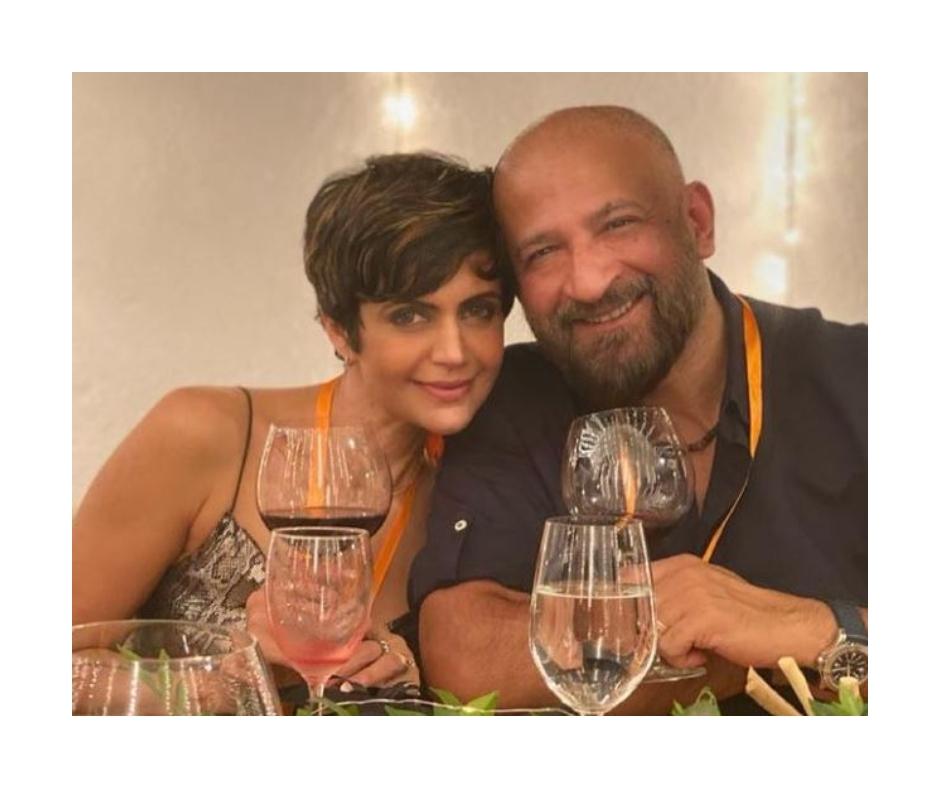Mandira Bedi remembers late husband Raj Kaushal; shares throwback pics with him