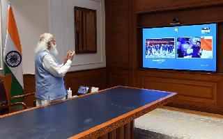 Tokyo Olympics 2020: PM Modi stands up to cheer for 'dynamic' Indian..