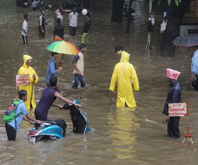 Mumbai Rains: Heavy waterlogging in Sion, Matunga; daily commute affected | Latest Updates