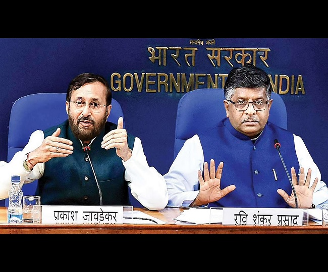 'Price of subservience', says Congress as RS Prasad, Javadekar, Harsh Vardhan, 9 others step down as ministers
