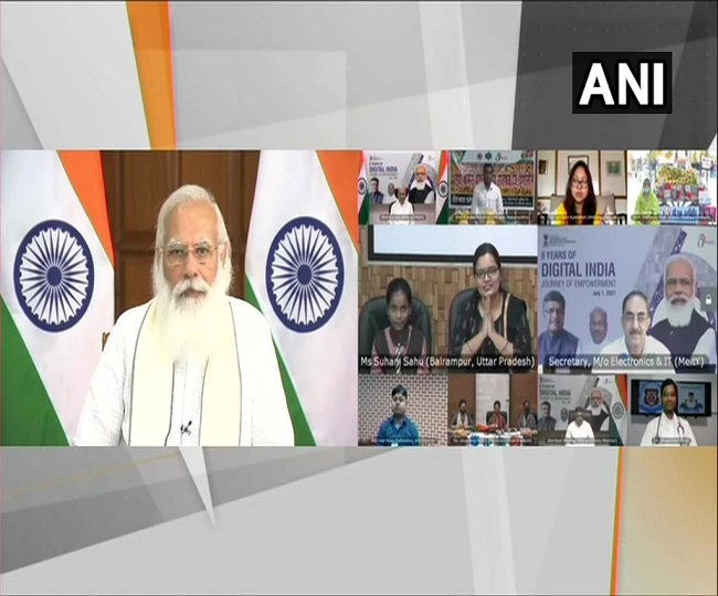 'This decade will be India's techade': PM Modi on Digital India's sixth anniversary