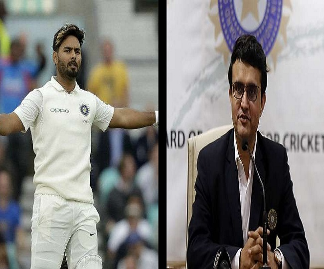 India vs England 2021: Sourav Ganguly defends Rishabh Pant, says 'impossible to wear mask all time'