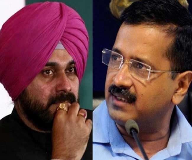 'Encouraged even opposition praises us'  Arvind Kejriwal responds to Navjot Singh Sidhu's tweet