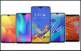 From Redmi 6A to LAVA Z1 to GIONEE Max, list of smartphones to buy with..