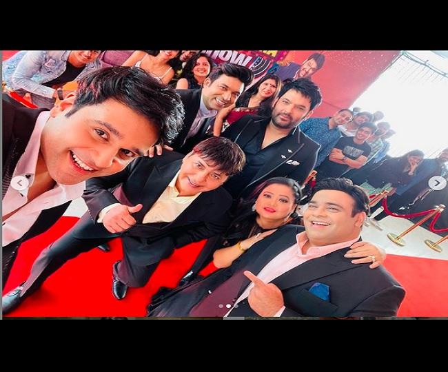 'New start with old team': Kapil Sharma reunites with Krushna, Sudesh, Bharti for new season of TKSS   Watch Pics & Videos