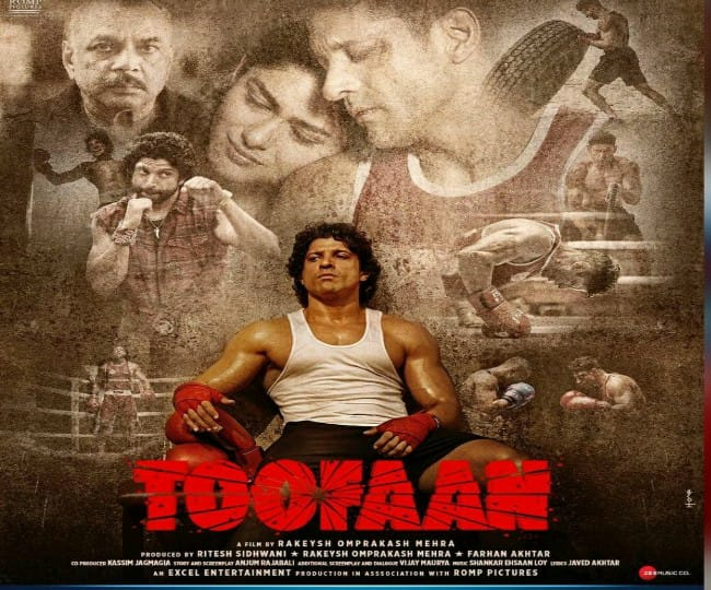 Toofaan Movie Review: Farhan Akhtar champions the emotion of Boxing