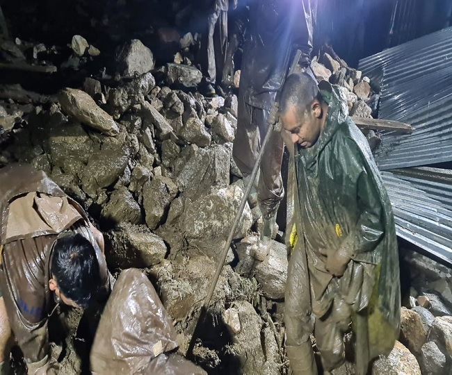 Six-year-old among 3 dead after cloudburst in Uttarakhand's Uttarkashi, several others missing; rescue ops underway