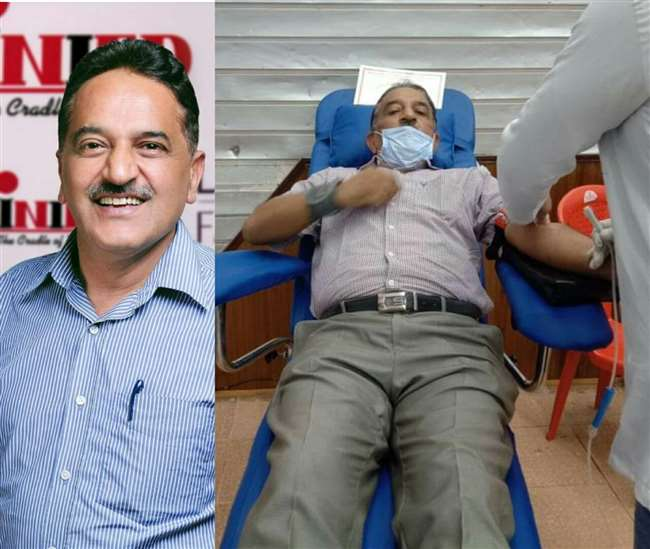 World Blood Donor Day 2021: Meet Satpal Sharma, the 60-year-old Himachal businessman who has donated blood over 90 times
