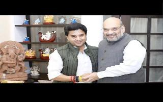 Jyotiraditya Scindia, Sarbananda Sonowal likely to get ministerial berth in cabinet reshuffle: Reports