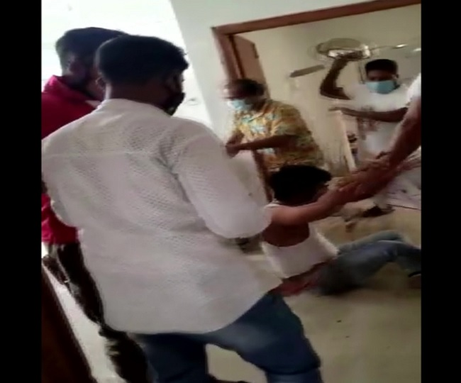 Caught-on-Camera: Doctor assaulted by family after COVID-19 patient dies in Assam | Watch