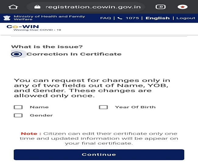 Got your CoWIN vaccine certificate wrong? Know the step-wise process to make corrections