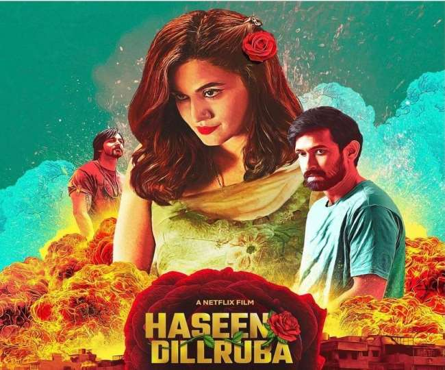 Haseen Dilruba Poster: Taapsee Pannu raises the bar with awe-striking poster of the upcoming film