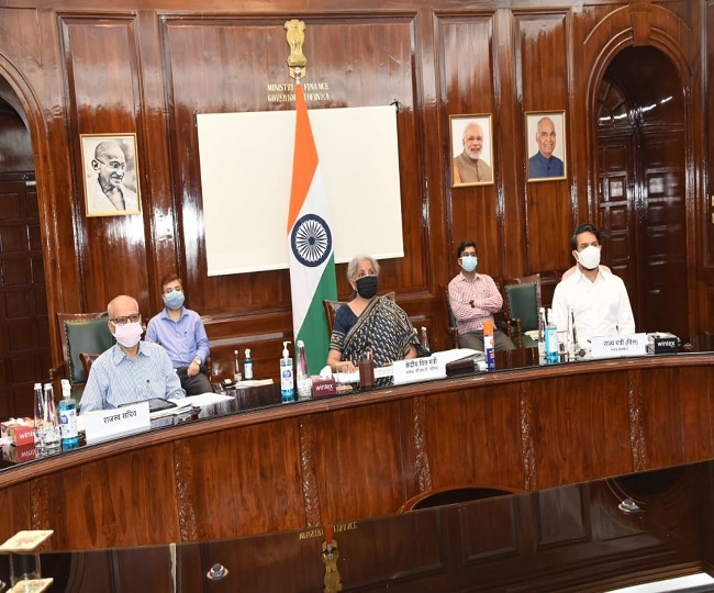 Nirmala Sitharaman chairs 44th GST Council meet; tax cut on COVID-19 essentials to be discussed   What to expect