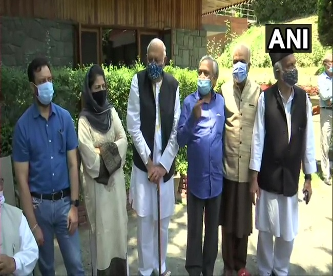 Gupkar alliance to attend PM Modi's all party meeting with Jammu and Kashmir leaders on Thursday