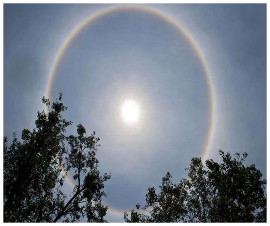 In pics: Days after Bengaluru, Hyderabad witnesses a beautiful halo around the sun