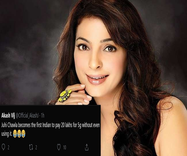 '1st Indian to pay...': Juhi Chawla brutally trolled as Delhi HC slaps Rs 20 lakh fine over her 'publicity' 5G case