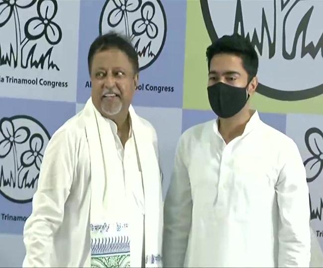 Mukul Roy, son Subhranshu rejoin TMC months after BJP's polls debacle in West Bengal