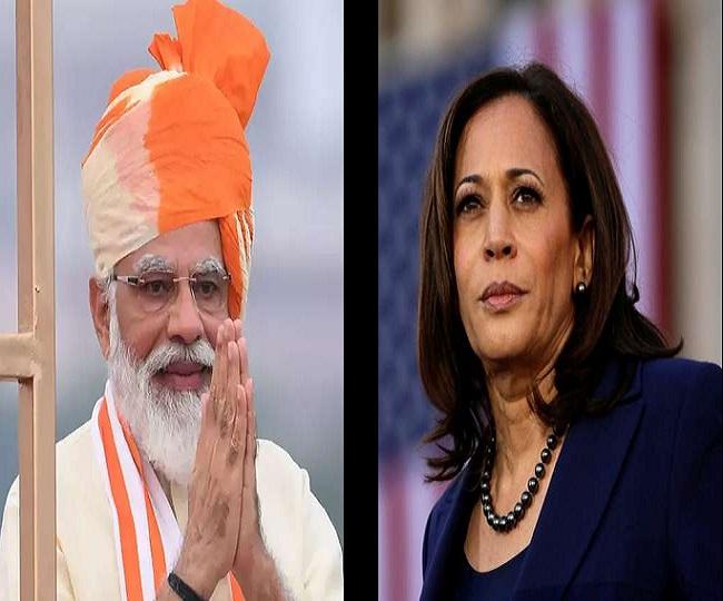 PM Modi speaks to US Vice President Kamala Harris, talks ...