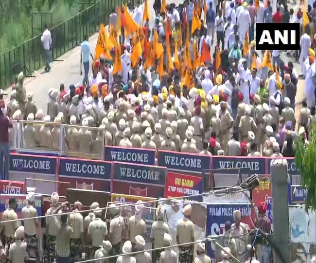 SAD chief Sukhbir Singh Badal detained amid massive protest outside CM's residence in Punjab