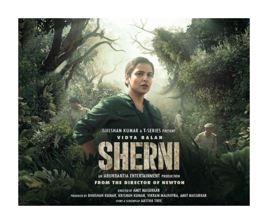 Sherni trailer: Vidya Balan plays a fierce forest officer struggling to find a man-eating tigress