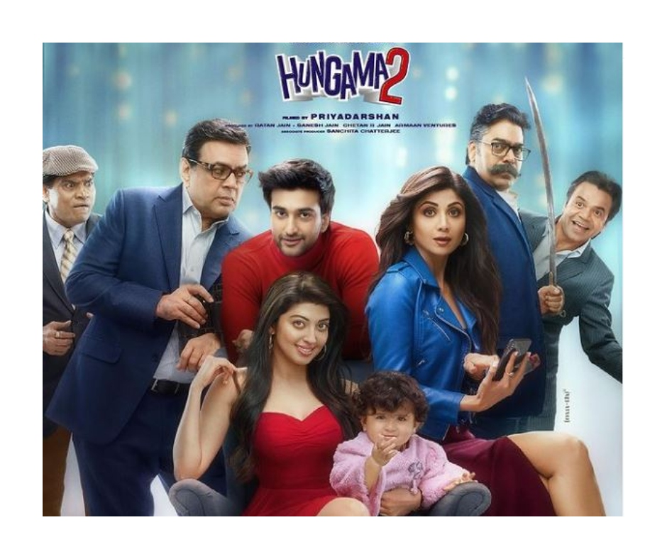 Shilpa Shetty's comeback film Hungama 2 gets release date; actress shares the first look