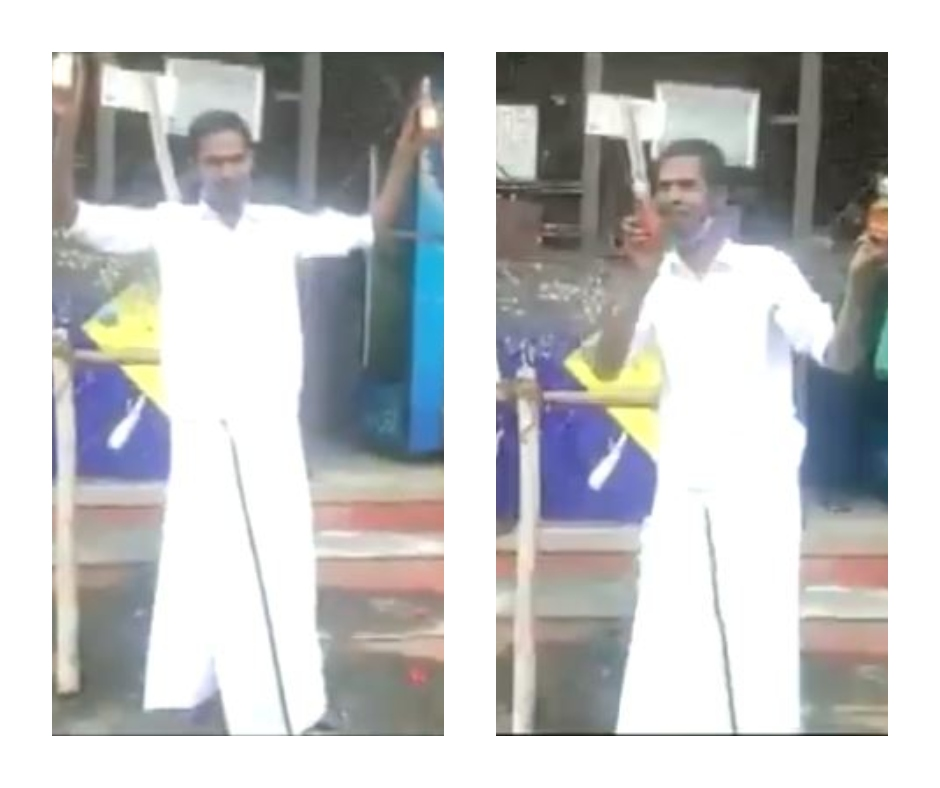 Watch video: Madurai man spotted worshipping alcohol bottles after liquor shops reopened in Tamil Nadu