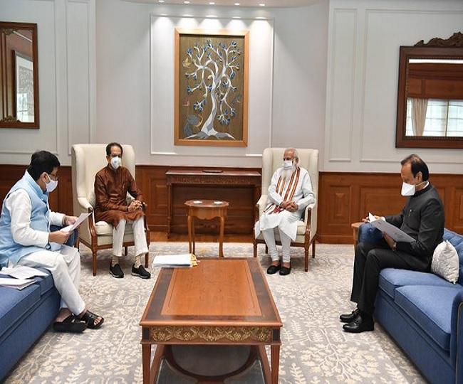 'Didn't go to meet Nawaz Sharif': Uddhav Thackeray after meeting PM Modi over Maratha reservation issue