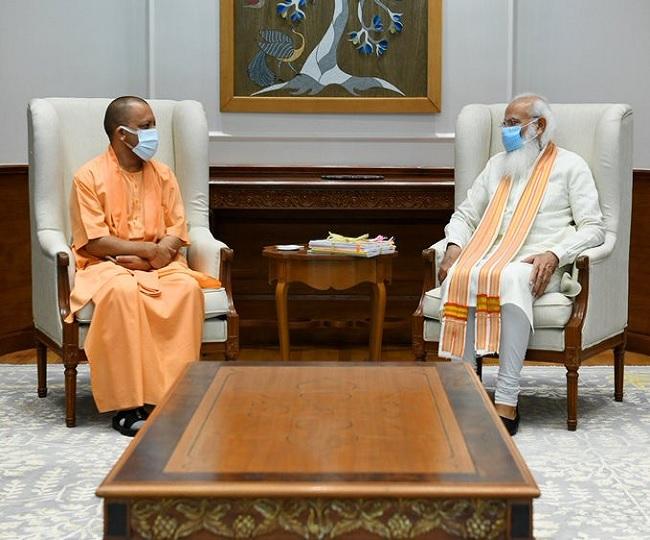 Yogi Adityanath meets PM Modi amid murmurs of cabinet reshuffling in UP ahead of Assembly polls
